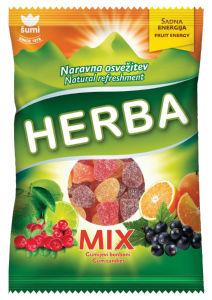 Bonboni Herba, mix, 200 g
