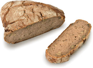 Kruh ajdov z orehi, 400g