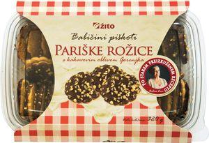 Keksi Babični piškoti, Pariške rožice, 320g