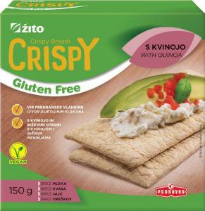 Kruhki Crispy s kvinojo, 150g
