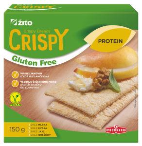 Kruhki Crispy, protein, 150g