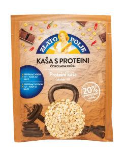 Kaša Zlato polje s proteini, čokolada in čili, 50g