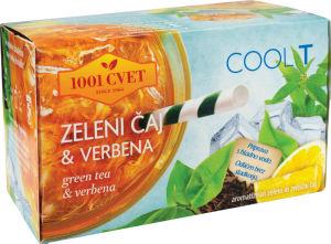 Čaj 1001 Coolt zeleni, verbena, 40g