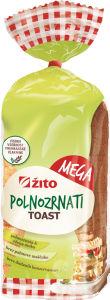 Toast Žito mega polnozrnat, 750g