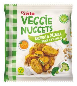 Polpeti Veggie Žito, brokoli, čičerika, zamrznjeno, 400 g