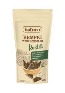 Hempki Natura, Rustik, z bio konopljo, 100 g
