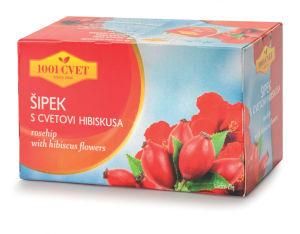 Čaj 1001, šipek s hibiskusom, 60g