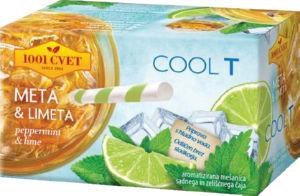 Čaj 1001, coolt meta & limeta, 50 g
