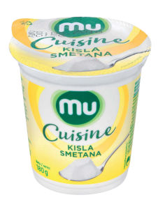 Kisla smetana MU Cuisine, 180g