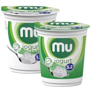 Naravni jogurt MU, 180g, več vrst*