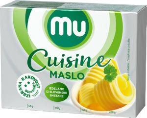 Surovo maslo MU Cuisine, 250g