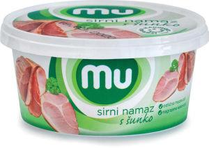 Namaz Mu, sirni s šunko, 140 g
