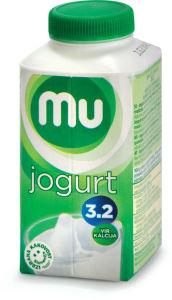 Jogurt MU, tekoči, 3,2 % m.m., 250 g