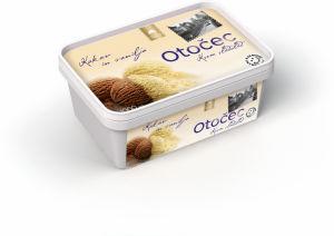 Sladoled Otočec, 1l, kakav in vanilija