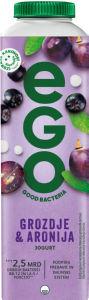 Jogurt Ego, aronija, grozdje, 500g