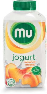 Jogurt MU, marelica, breskev, 500g