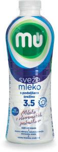 Mleko Mu, s podaljšano sv., 3,5% m.m., 1l
