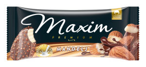 Sladoled Maxim, mandelj, 100 ml
