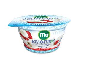 Jogurt Mu Athentikos, jagoda, 150g
