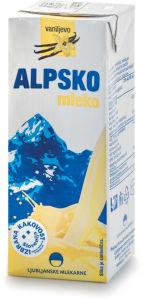 Mleko Alpsko, vanilija, 200ml
