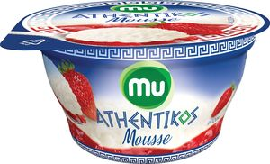 Jogurt Mu Athentikos musse, jagoda, 100g