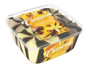 Sladoled Cremosa van, mal., leš., čokolada, 1700ml