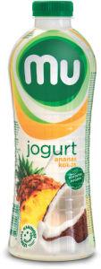 Jogurt MU tekoči, ananas kokos, 1,3 % m.m., 1 l