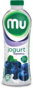 Jogurt Mu borovnica 1,3 % m.m., 1 l