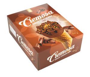 Kornet Cremosa čokolada, 4x115ml