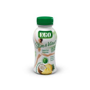 Jogurt Ego Slim&vital, ananas kokos, 250 g