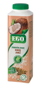 Jogurt Ego, kokos, janež, 500g
