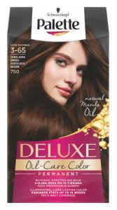 Barva za lase Palette Deluxe, 750, čok.rjava