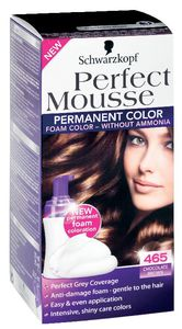 Barva za lase Perfect musse, 465, čok.rjava