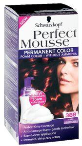 Barva za lase Perfect musse, 388, t.rd.rjava