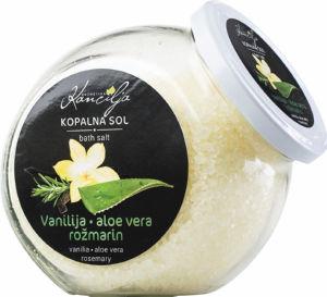 Kopalna sol vanilija, rožmarin, 850g