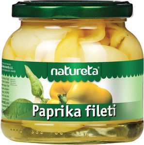 Paprika Natureta, fileti, 530g