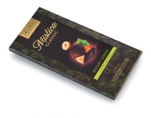 Čokolada Mistica, temna, lešnik, 100g