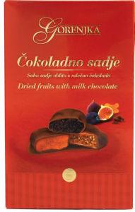 Bonbonjera Čokoladno sadje, 200g
