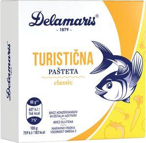 Pašteta Delamaris, turistična, 80g