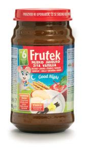 Frutek, mleko, vanilija, 190g
