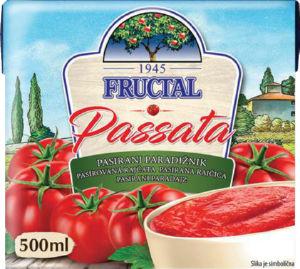 Paradižnik Fructal, pasiran, 500 g