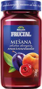 Domača marmelada Fructal, mešana, 700 g