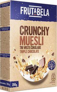 Musli Frutabela 3 čokolade box, 350g