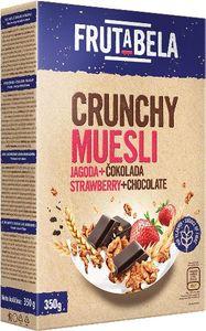 Musli Frutabela čokolada jagoda box, 350g