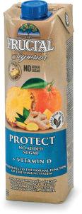 Nektar Fructal, Protect, ananas, pomaranča, 1 l