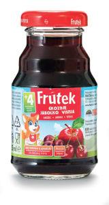 Napitek Frutek, višnja, grozdje, jabolka, 125ml