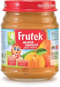 Frutek, marelica, hruška, 120 g