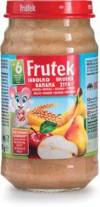 Frutek, hruška, banana, žita, 190g