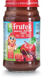 Frutek, jabolko, višnja, 190g
