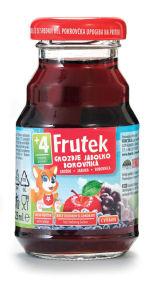 Nektar Frutek, borovnica, jabolko, grozdje, 25ml